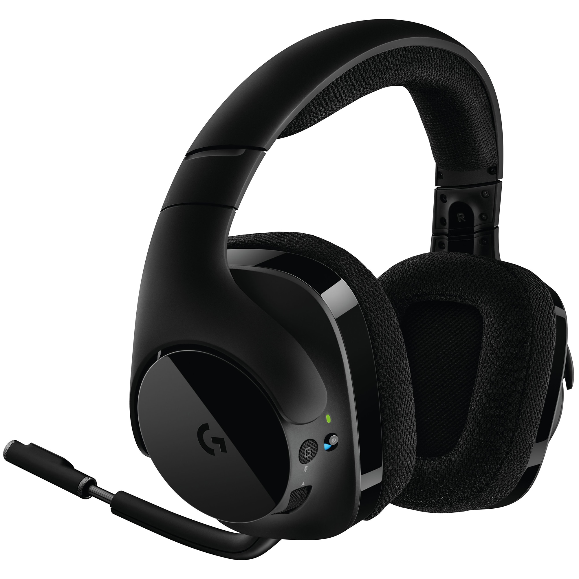 Fotografie Casti gaming Logitech G533, Wireless, DTS Surround 7.1, Negru