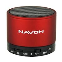 Navon BT S10 hordozható hangszóró, Bluetooth, Piros
