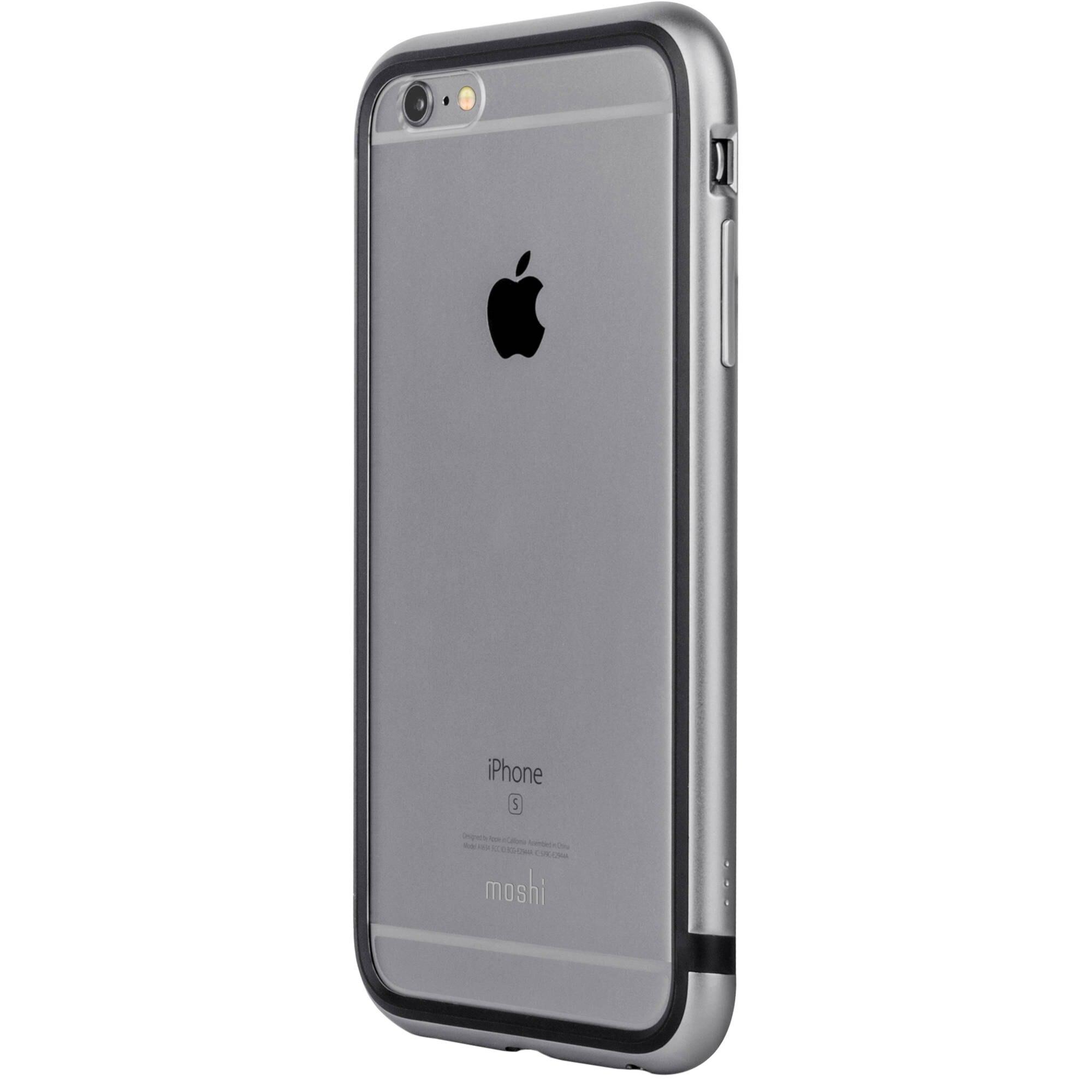 Fotografie Husa de protectie Moshi iGlaze Luxe pentru iPhone 6 Plus/6S Plus, Titanium Grey