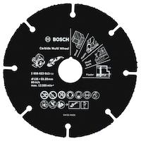 Карбидов диск Bosch Professional за дърво/пластмаса, 125 x 22/23 x 1 мм