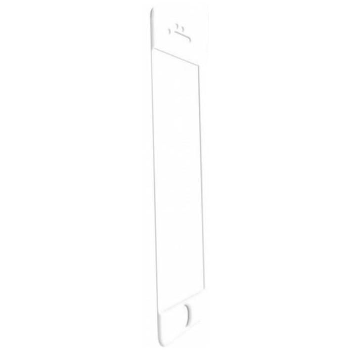Fotografie Folie de protectie Tempered glass 3D Tellur pentru iPhone 6 Plus / iPhone 6S Plus, Margini curbate, White