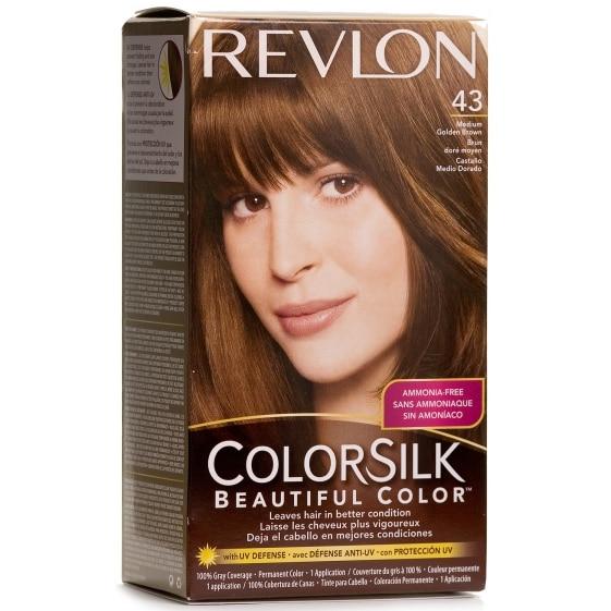 Colorsilk 43 Medium Gold Brown