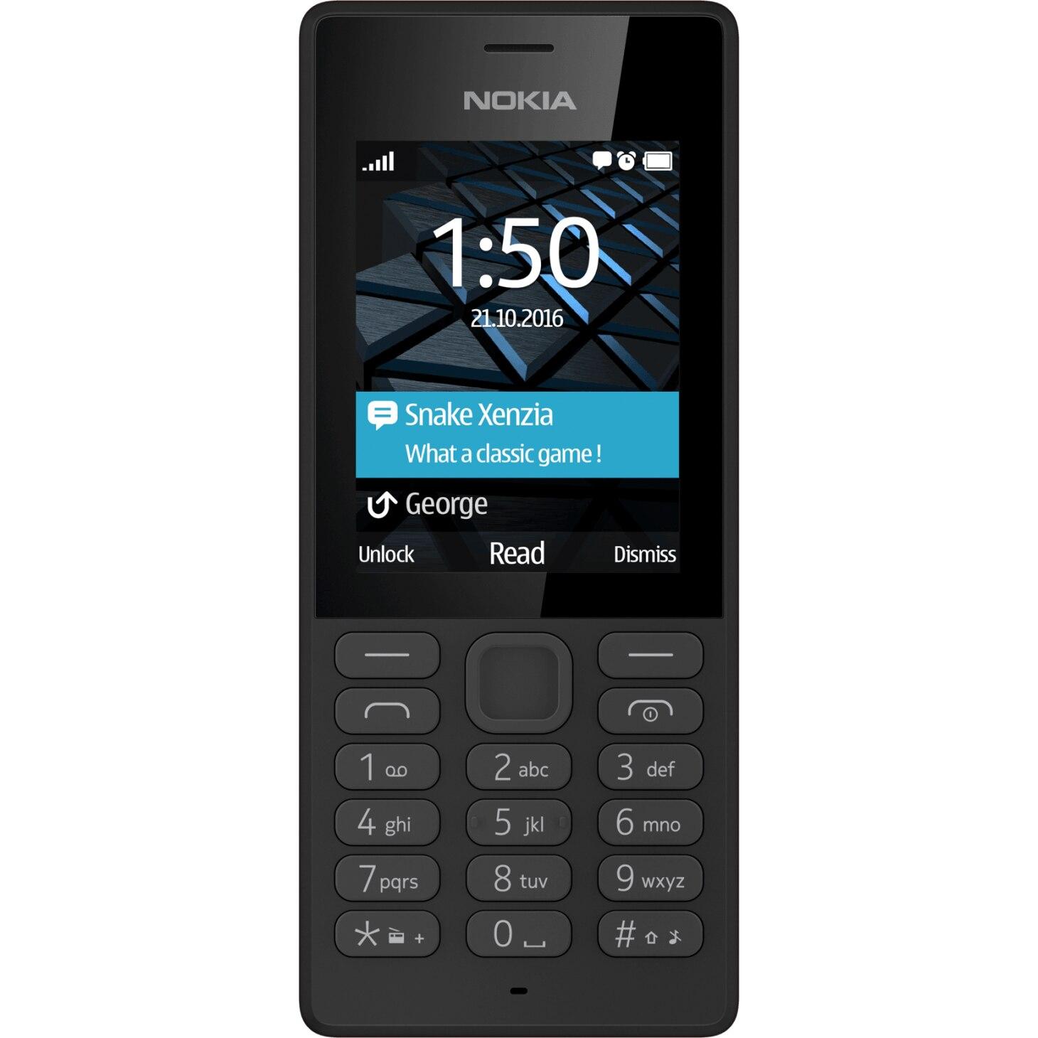 Fotografie Telefon mobil Nokia 150, Dual Sim, Black