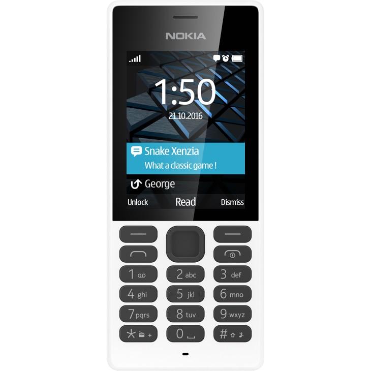 Fotografie Telefon mobil Nokia 150, Dual Sim, White