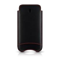 Калъф BEYZA New Slimline Classic iPhone 5, 5S, SE, Кожа, Черен