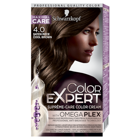 Vopsea de par permanenta Color Expert 4.0 Saten Rece, 147 ml