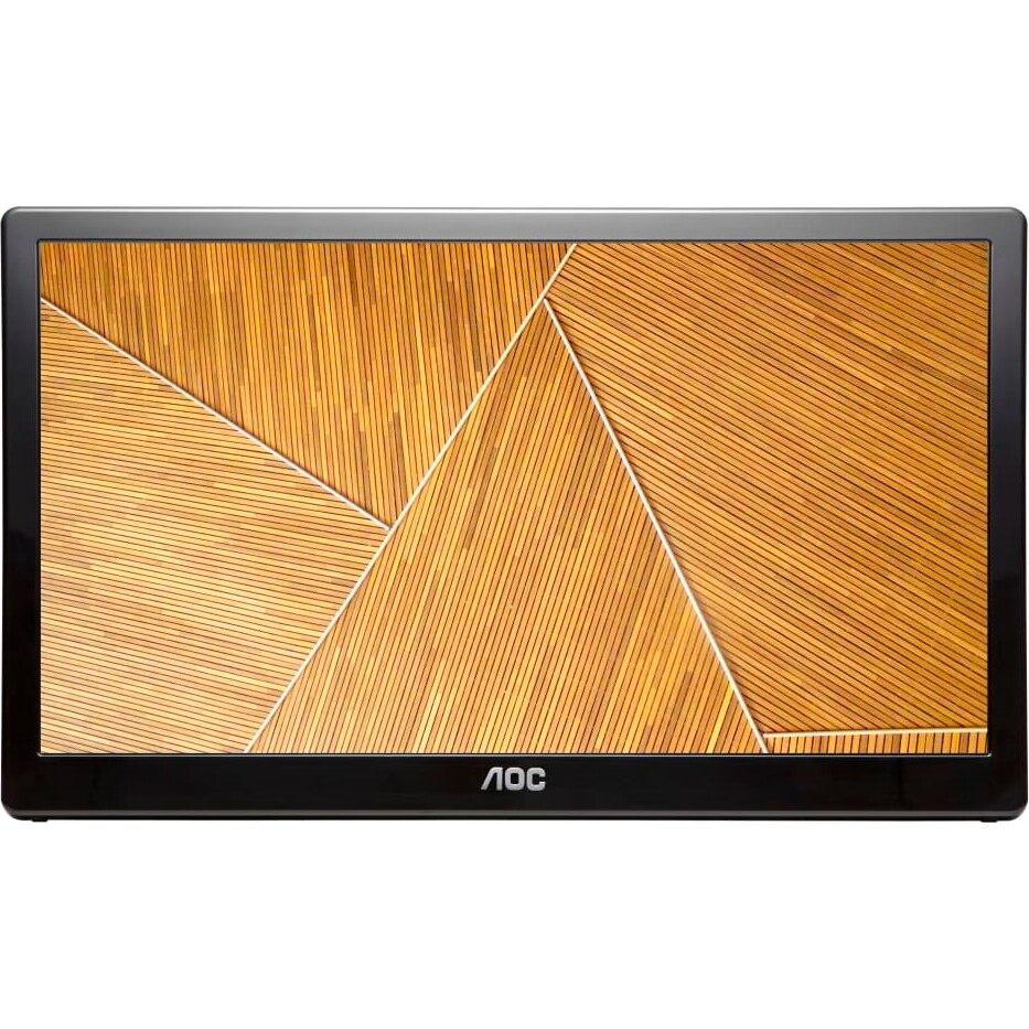 Fotografie Monitor AOC LED TN 15.6'' , 60Hz, Pivot, USB, E1659FWU