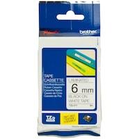 Etichete laminate Brother TZE211 Black on White, 6mm