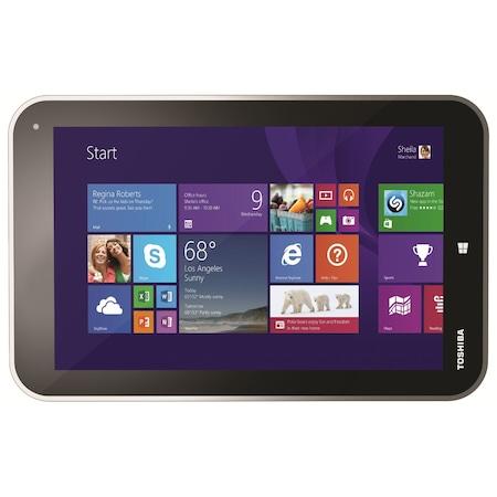"""Tableta Toshiba Encore WT8-A-102 cu procesor Intel® Atom™ Z3740D 1.33GHz, 8"""", 2GB DDR 3, 32GB, Wi-Fi, GPS, Bluetooth, Microsoft Windows 8.1, Light Gold"""