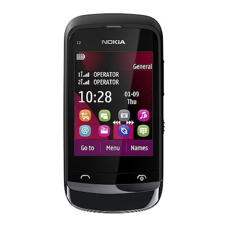 Мобилен телефон Nokia C2-03 Dual SIM, Black