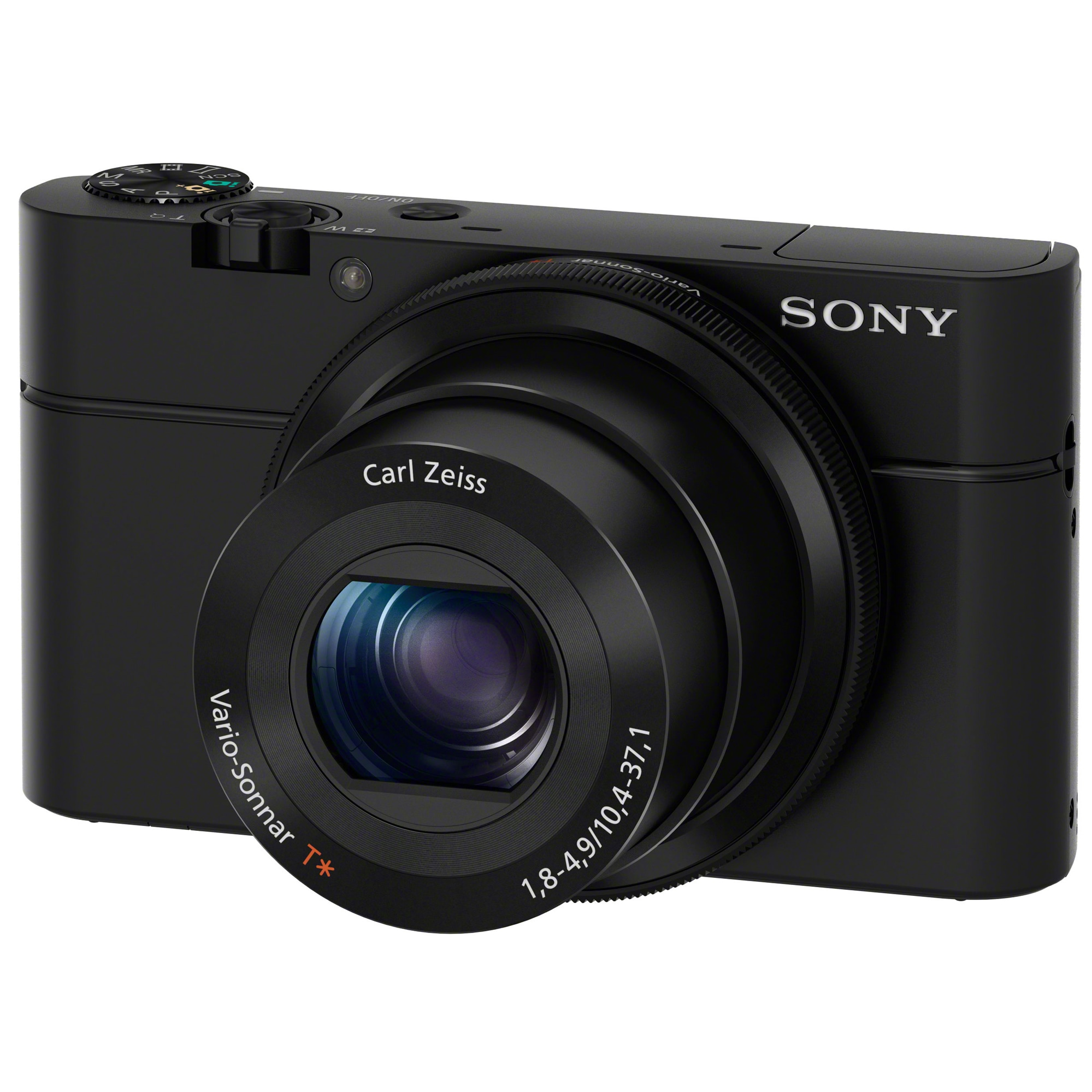 Fotografie Aparat foto digital Sony Cyber-Shot DSC-RX100, 20.2MP, FullHD, Black