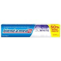 Паста за зъби Blend-a-Med 3D White, 100 мл + 50 мл Подарък
