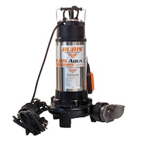 Pompa submersibila pentru apa curata/murdara Ruris Aqua 35, 1300 W, 230 V, 18m³/h debit apa, 12 m inaltime maxima refulare, inox, 35°C temperatura maxima, 10 m lungime cablu
