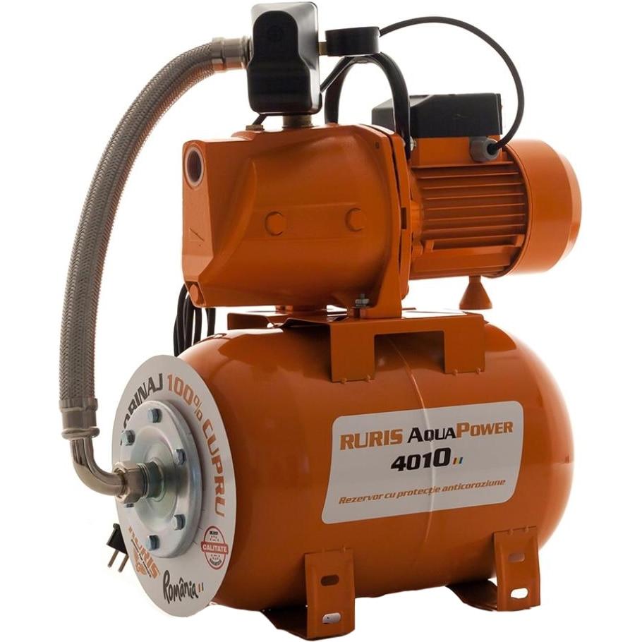 Fotografie Hidrofor Ruris AquaPower 4010, 1800 W, 24 l, debit 60 l/min, refulare 70 m