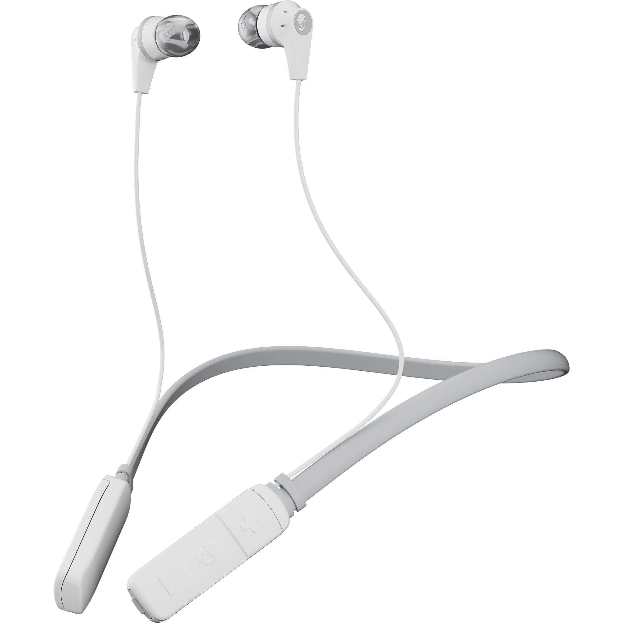 Fotografie Casti audio in-ear, Skullcandy Ink'd, Microfon, Bluetooth, White Gray Gray