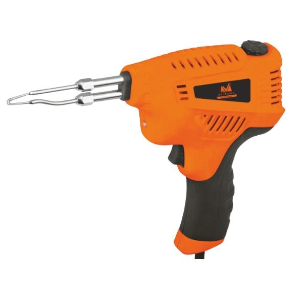 Fotografie Pistol electric de lipit Honest EPTO 675788, 200 W, 230 V, iluminare LED, 3 trepte putere