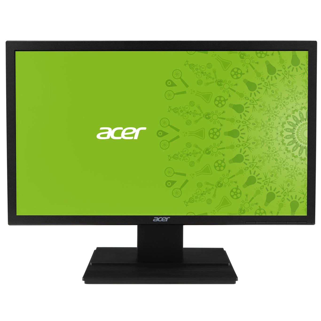 "Fotografie Monitor LED TN Acer 19.5"", HD +, VGA, Negru, V206HQLAb"