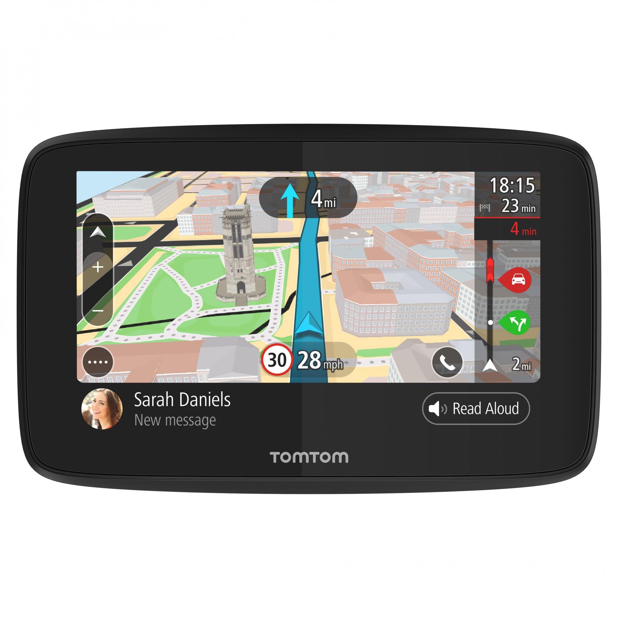 "Fotografie Sistem de navigatie TomTom GO 520, diagonala 5"", Full Europe + Actualizari gratuite pe viata, alerte camere de viteza"