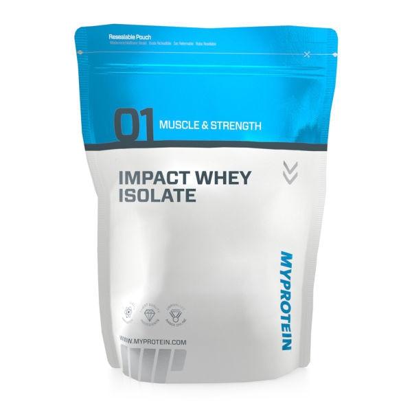 Pudra proteica Myprotein Impact Whey Protein Raspberry, 1000 g