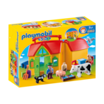 Играчка Playmobil 1.2.3, Ферма