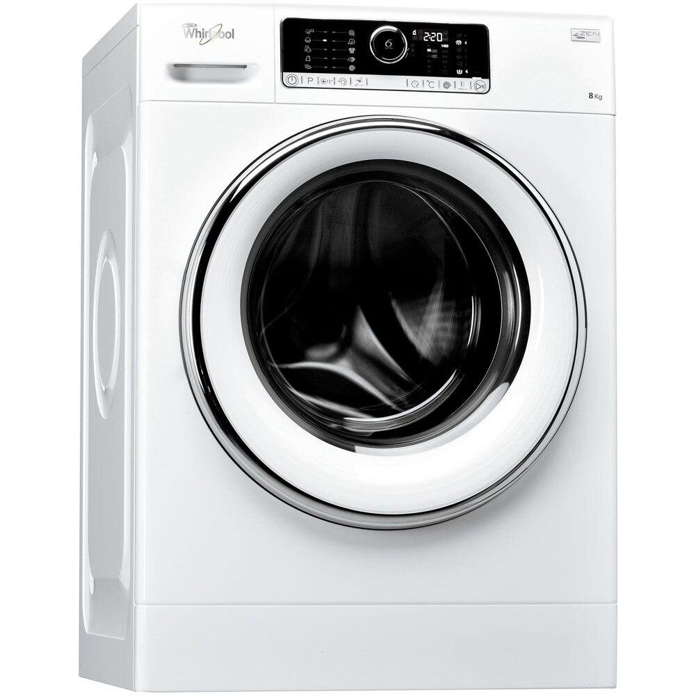 Fotografie Masina de spalat rufe Whirlpool FSCR80423, 6th Sense, Supreme Care, 8 kg, 1400 RPM, Direct Drive, Touch Control, Clasa A+++, 60 cm, Alb