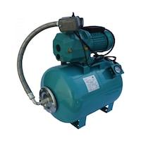 Хидрофор за чиста вода Omnigena OM5003/50M, 750 W, За голяма дълбочина, С ежектор и манометър, Капацитет на разширителния съд 50 л, Максимален дебит 37 л/мин, Височина на заустване 47 м, Дълбочина на засмукване 23 м