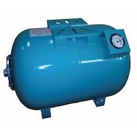 Хоризонтален резервоар Omnigena , за хидрофор, вместимост 100 литра, с манометър