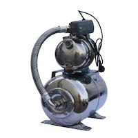 Хидрофор за чиста вода Omnigena OM5002/24I, 1100 W, Капацитет на разширителния съд 24 л, Максимален дебит 3600 л/ч, Височина на заустване 50 м, Дълбочина на засмукване 9 м