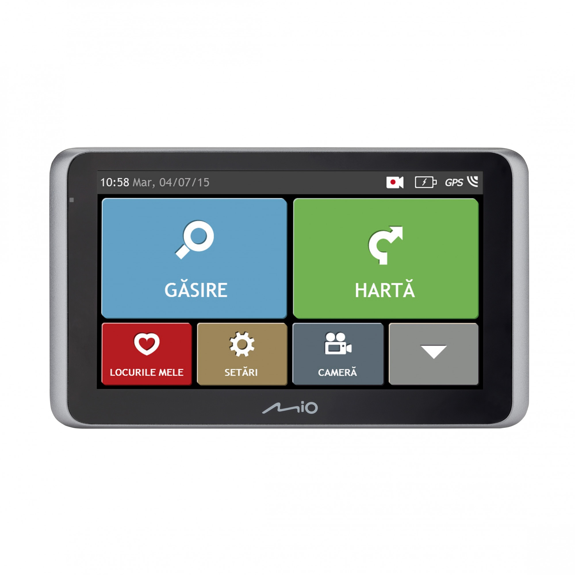 "Fotografie Sistem de navigatie + camera video integrata GPS Mio MiVue Drive 65 LM TMC, diagonala 6"", card 16 GB inclus, bluetooth, Harta Full Europe + Update gratuit al hartilor pe viata"