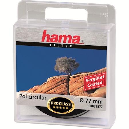 Hama cirkuláris polárszűrő, AR coated, 77.0mm, Fekete