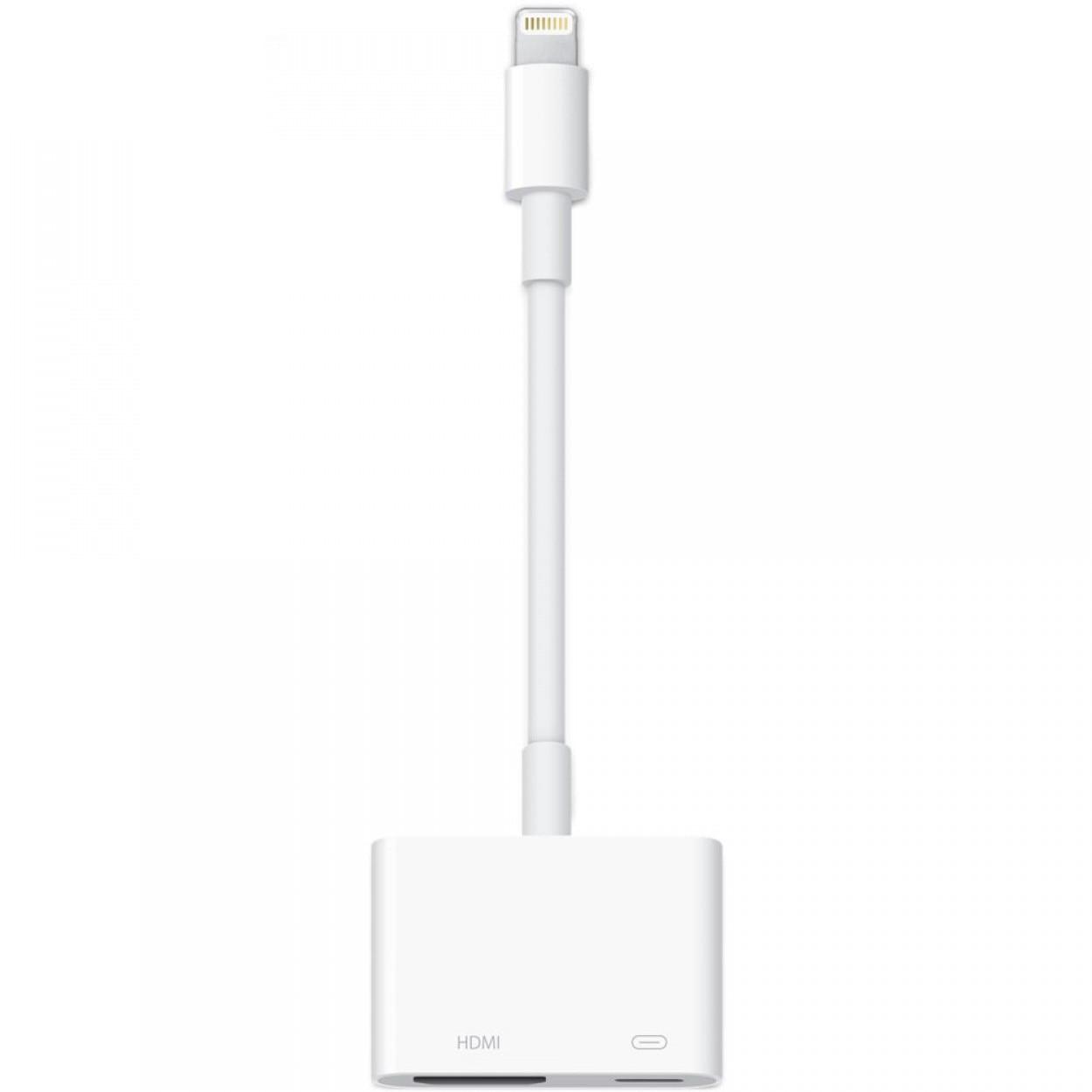 Fotografie Adaptor Lightning to Digital AV Apple, White