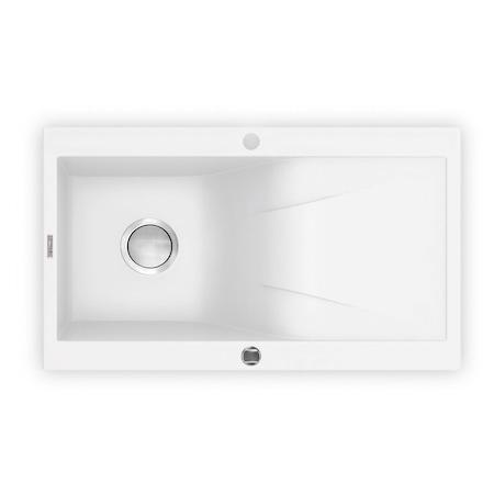 Deante ZQR_A113 Rapsodia mosogatótálca, 1 tálca, 860 x 500 x 190 mm, márvány fehér