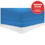 Heinner Home gumis lepedő, 90x200 cm, pamut, Kék