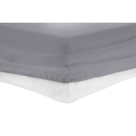 Heinner Home gumis lepedő, 160x200 cm, Szürke