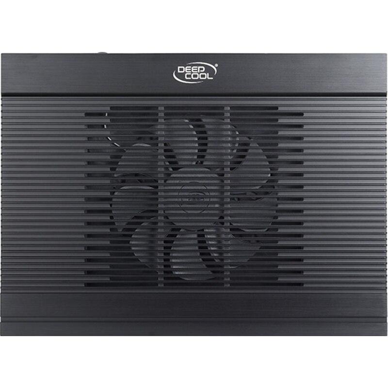 "Fotografie Cooler Laptop DeepCool N9, 17"", Hydro Bearing, 4 x USB, Negru"