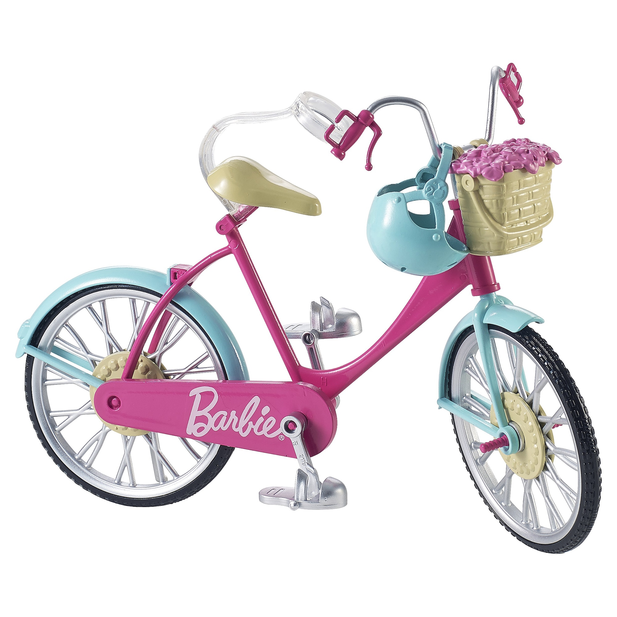 Fotografie Bicicleta Barbie®, cu accesorii