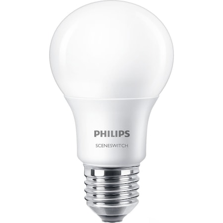 Philips SceneSwitch LED izzó, E27, 8W, 806 lm, A