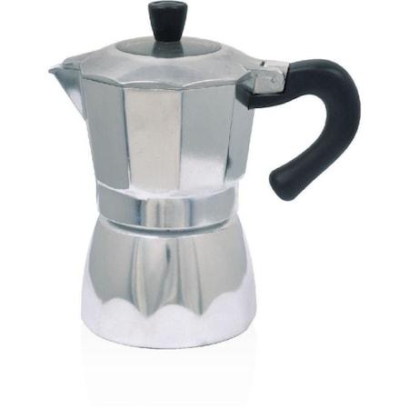 Espresso maker aluminiu, 3 cesti, 150 ml, Sapir SP 1173-E3