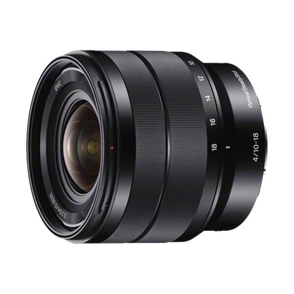 Fotografie Obiectiv Sony, montura E, 10-18mm, f4 OSS, Negru