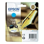 Мастило EPSON 16 C13T16224010, Cyan