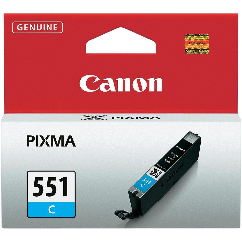 Fotografie Cartus Canon CLI 551, Cyan