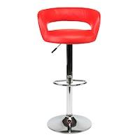 scaun bar rosu