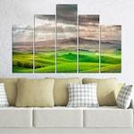 Декоративни панели Vivid Home от 5 части, Природа, PVC, 110x65 см, 5-та Форма №0166