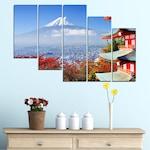 Картини пана Vivid Home от 5 части, Град, Канава, 110x65 см, 7-ма Форма №0198