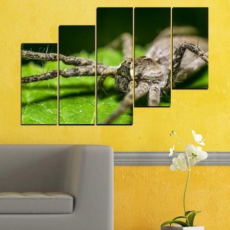 Декоративни панели Vivid Home от 5 части, Природа, PVC, 110x65 см, 8-ма Форма №0200