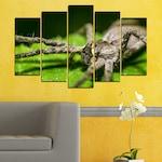 Декоративни панели Vivid Home от 5 части, Природа, PVC, 110x65 см, Стандартна форма №0200
