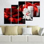 Картини пана Vivid Home от 5 части, Колаж, Канава, 110x65 см, 8-ма Форма №0296