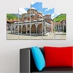 Картини пана Vivid Home от 5 части, България, Канава, 110x65 см, 5-та Форма №0465