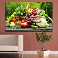 Картини пана Vivid Home от 1 част, Кулинарен, Канава, 35x25 см, №0020