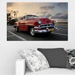 Картини пана Vivid Home от 1 част, Ретро, Канава, 35x25 см, №0051